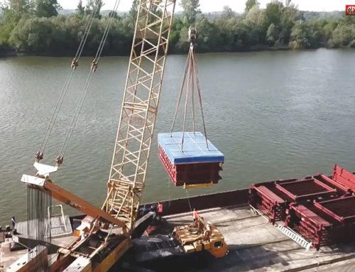 ĐĐTEP poslao preko Luke Brod opremu za najveću spalionicu smeća u Europi