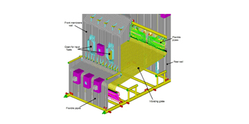 3D boiler with vibro grate