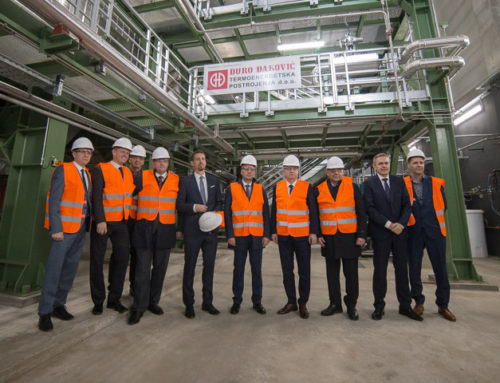 Biomass power plant opens in Virovitica with Croatian and Hungarian Ministers