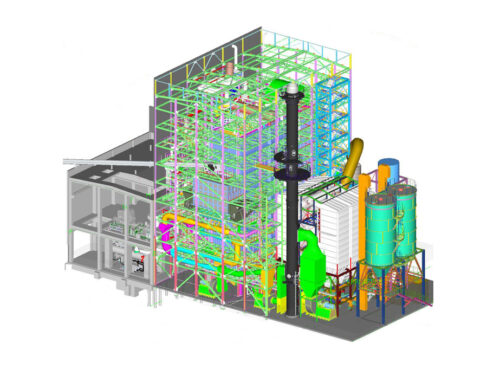 Assembly of a biomass cogeneration plant in Belgium is underway